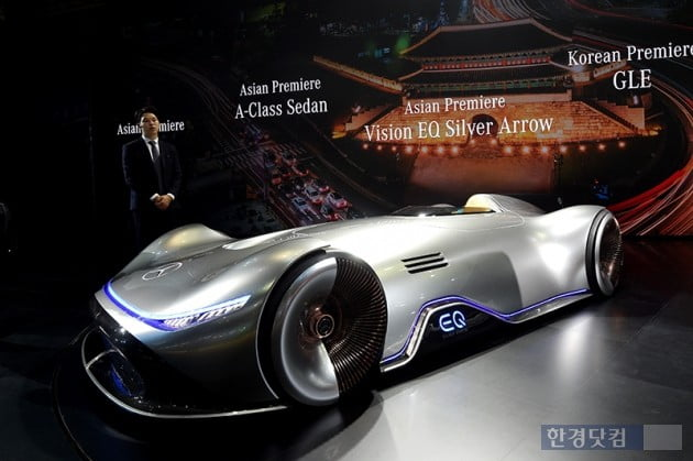 [포토] 비젼 EQ 실버 애로우, '벤츠가 선사하는 미래' (2019 서울모터쇼)
