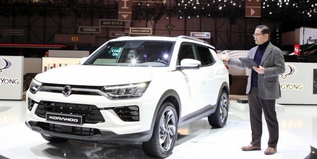 '2019 제네바 모터쇼'에 참가한 쌍용자동차 / 사진=쌍용차