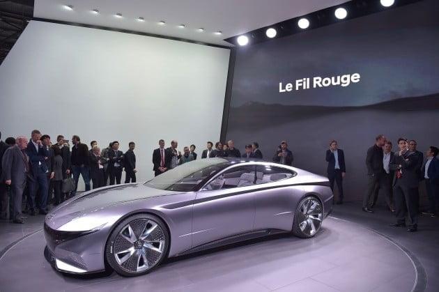 지난해 3월 제네바모터쇼에서 공개된 콘셉트카 '르 필 루즈' / 사진=현대자동차