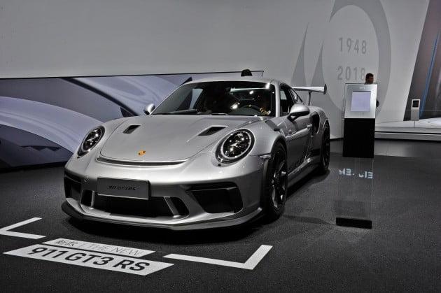 독일 포르쉐의 '911 GT3 RS' / 사진=박상재 기자