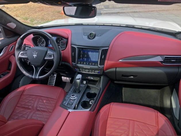 이탈리아 프리미엄 자동차 브랜드 마세라티의 첫 번째 스포츠유틸리티차량(SUV)인 '르반떼 GTS' / 사진=박상재 기자