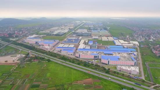 서진시스템의 베트남 공장