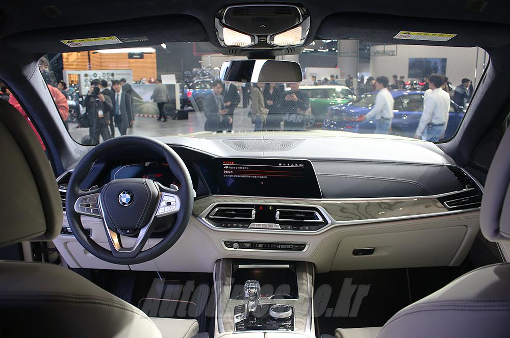 [2019 서울]새로운 플래그십 SUV, BMW X7