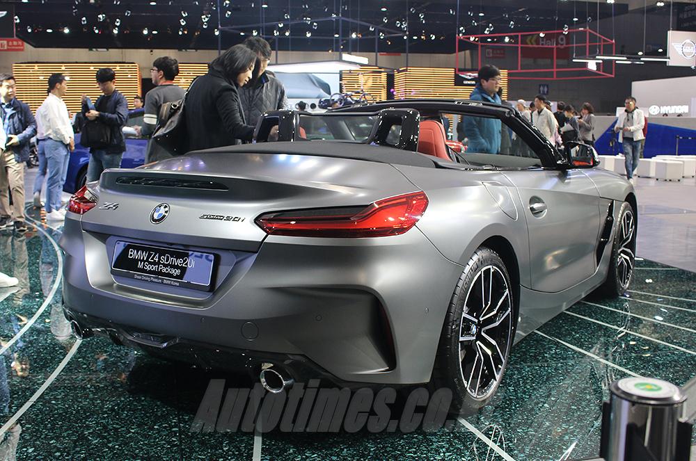 [2019 서울]정통 로드스터의 재해석, BMW Z4