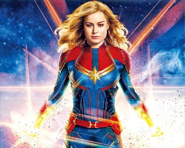 마블 시네마틱 유니버스에서 처음으로 여성 영웅을 다룬 영화 '캡틴 마블'.