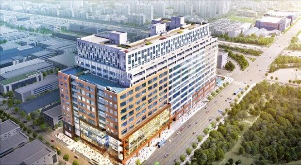 부평 제이타워 3차 기숙사, 부평 국가산업단지의 첫 지식산업센터 내 기숙사