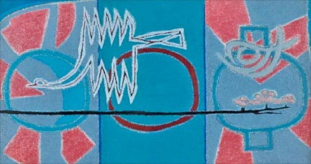 서울옥션이 12일 열리는 메이저 경매에 출품한 김환기의 1958년 작 '항아리'.