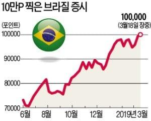 """브라질 증시 사상 최고…""""보우소나루 랠리 더 간다"""""""