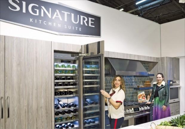 美 건축디자인 쇼에 선보인 LG '시그니처 키친'