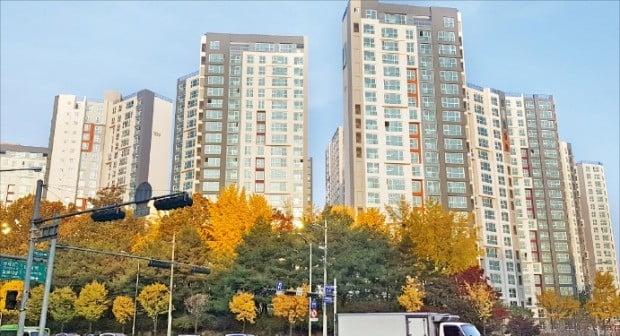 대출 규제, 거래절벽 등으로 입주 중인 서울 아파트에서 잔금 미납자가 늘어나고 있다. 잔금 미납자에게 계약 해지 계획을 통보한 강남구 래미안 루체하임.  /한경DB
