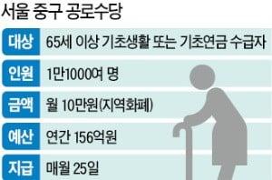 지자체 '복지 폭주'에 구경만 하는 복지부…서울 중구, 10만원 노인수당 지급 또 강행