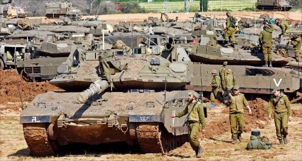 골란고원 갈등 폭발…이스라엘 탱크 가자에 집결