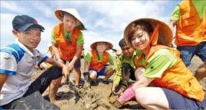 SK이노베이션 '맹그로브 숲 복원' 봉사