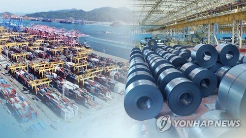 """정부, 철강업계와 수출현안 점검…""""통상전쟁 더 치열해질 것"""""""