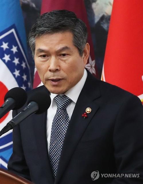 """정경두, '동맹' 연습 지휘소 방문…軍 """"군사합의에 배치안돼"""""""
