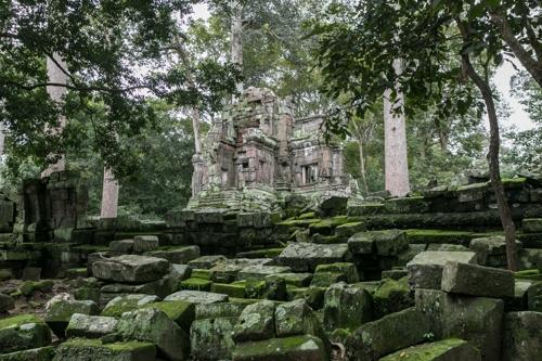 프레아피투 사원은 한국이 처음 보수한 앙코르 유적
