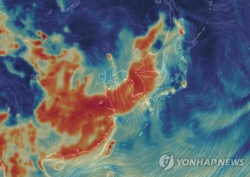 """中매체, '韓-NASA 미세먼지 연구협력'에 """"책임 넘기려 하나"""""""