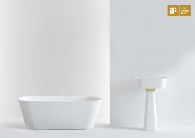 욕실 전문 '새턴바스', '2019 iF 디자인 어워드'서 국내 최초 욕실 부문 금상 수상