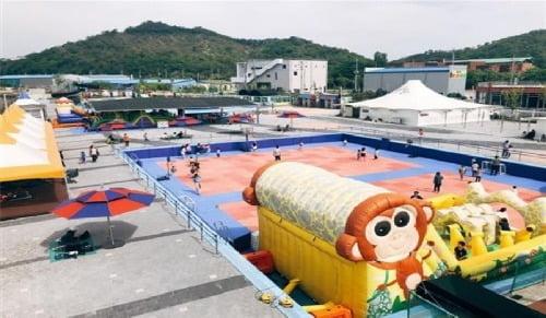 군산시, 군산야외수영장 내 '어린이 놀이시설' 개장