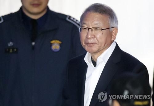 '사법농단' 양승태 보석청구 기각…구속 상태서 재판