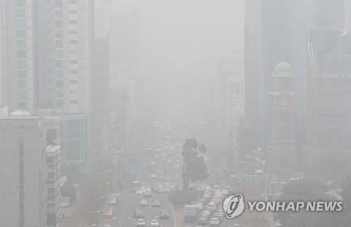 오늘 서울 초미세먼지 사상 최악 기록 가능성…전국이 비슷