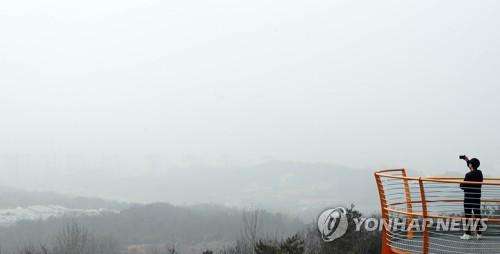청정 북동풍·높은 산맥 덕에 영남권 초미세먼지 2∼3배 낮아