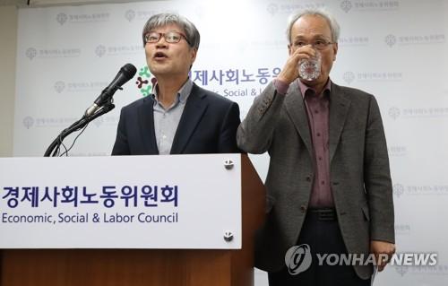 경사노위, '탄력근로제 개선' 논의 결과 국회 제출