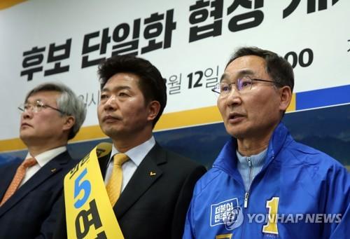 """민주·정의 단일화 4·3 구도 변화…한국당 """"2중대 밀어주기"""""""
