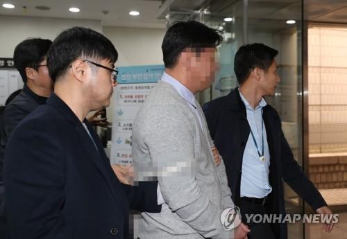 """'버닝썬-경찰 유착 고리' 전직 경찰관 구속…""""증거인멸 염려"""""""