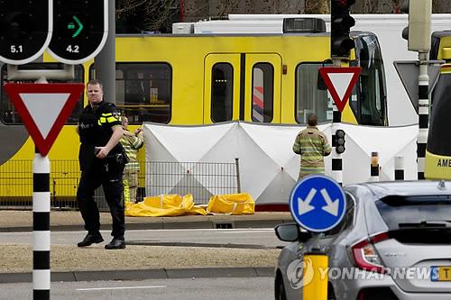"""네덜란드 경찰 """"총격사건 용의자는 터키 출신 37세 남성"""""""