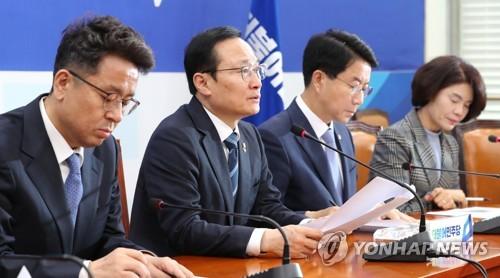 """민주, 청문보고서 채택 촉구…""""한국당, 흥신소·답정너 청문회"""""""