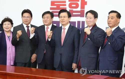 한국당, 황교안 특보 32명 임명