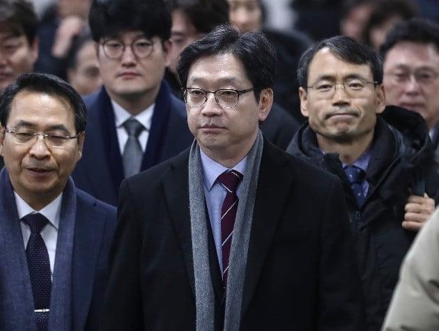 '김경수 항소심' 19일 첫 재판…구속 48일 만에 법정 출석(사진=연합뉴스)