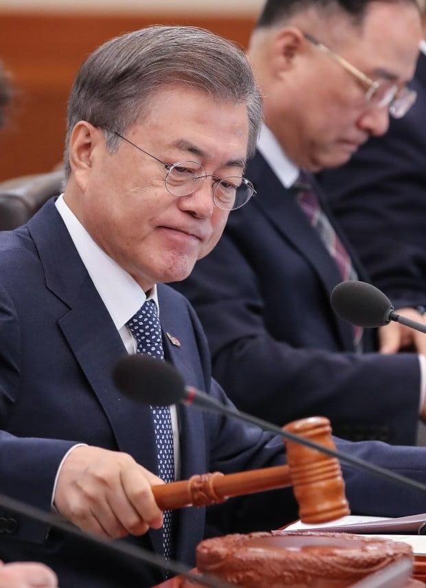 """문재인 대통령 """"버닝썬 사건의 의혹을 낱낱히 규명하라"""" 사진=연합뉴스"""