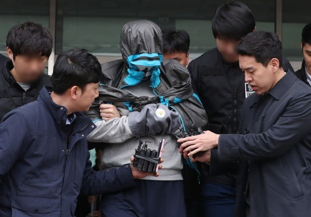 신원 공개된 이희진 부모살인 피의자 김다운 /사진=연합뉴스