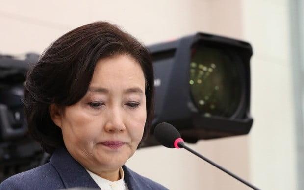인사청문회에서 질문 듣는 박영선 후보자 (사진=연합뉴스)
