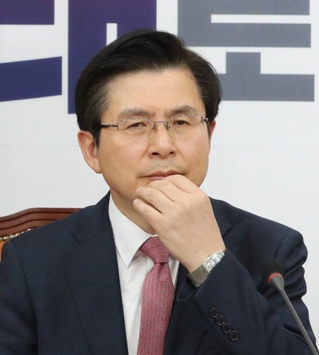 황교안 대표, 굳은 표정 (사진=연합뉴스)