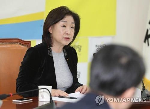 """심상정 """"여야4당 선거법 단일안 논의시작…민주, 대승적 결단을"""""""