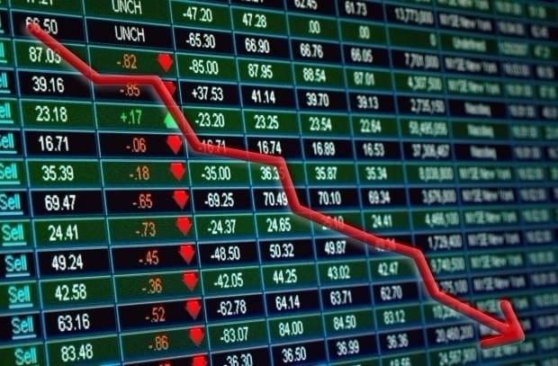 코스피, 개인·기관 매도에 하락 전환…한진그룹株 '급등'