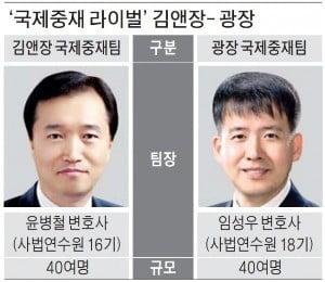 국제 소송전서 또 맞붙은 김앤장-광장