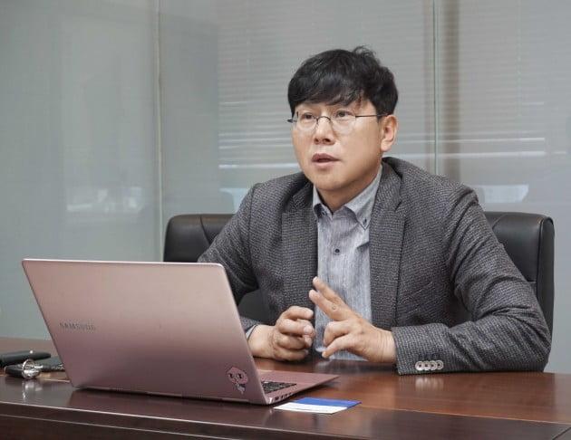 김남기 미래에셋제5호스팩 대표. (사진 = IR큐더스)