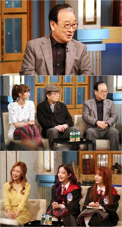 """'해투4' 이순재 """"문제 일으킨 연예인, 스스로 자퇴해야"""" 일침 /사진=KBS2"""