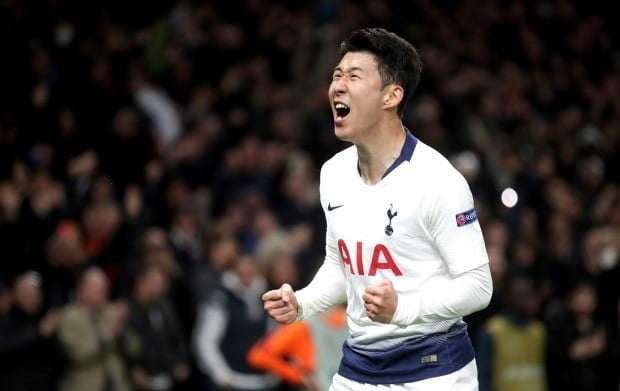 Tottenham beat Manchester City 1-0 in the first leg of the fourth UEFA Champions League final to move to the quarterfinals. Sohn Heung-min scored the victory goal in the day. Photo = AP