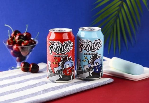 보해양조, 탄산음료 '크렁크 펀치' 출시…GS25 판매