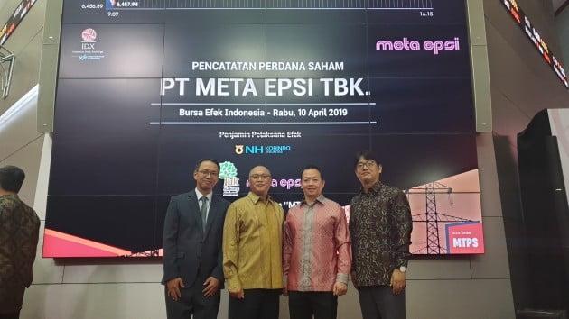 NH투자증권이 인도네시아 기업 메타앱시 IPO를 대표 주관했다. (자료 = NH투자증권)