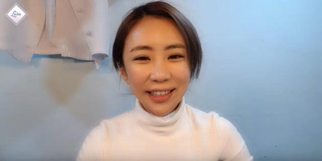 배우 김성은 / 사진=유튜브 계정 '라라' 채널 갈무리