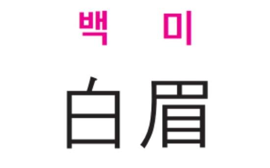 [신동열의 고사성어 읽기] 백미 (白 眉)