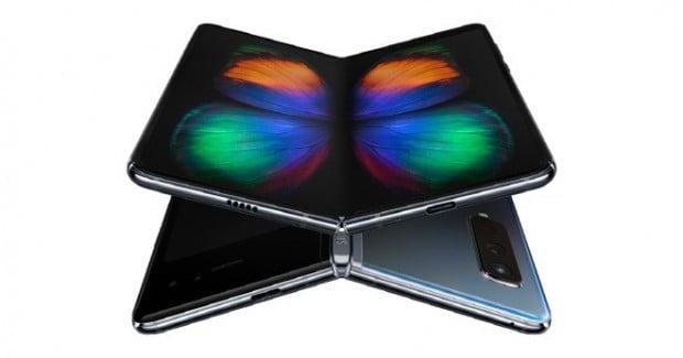 삼성전자의 폴더블폰 갤럭시폴드.