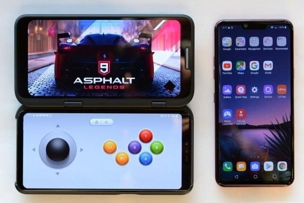 LG전자의 첫 5G 스마트폰 'V50 씽큐'.