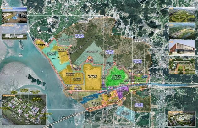 인천시 서구에 있는 현 수도권매립지 위치도. 인천시 제공